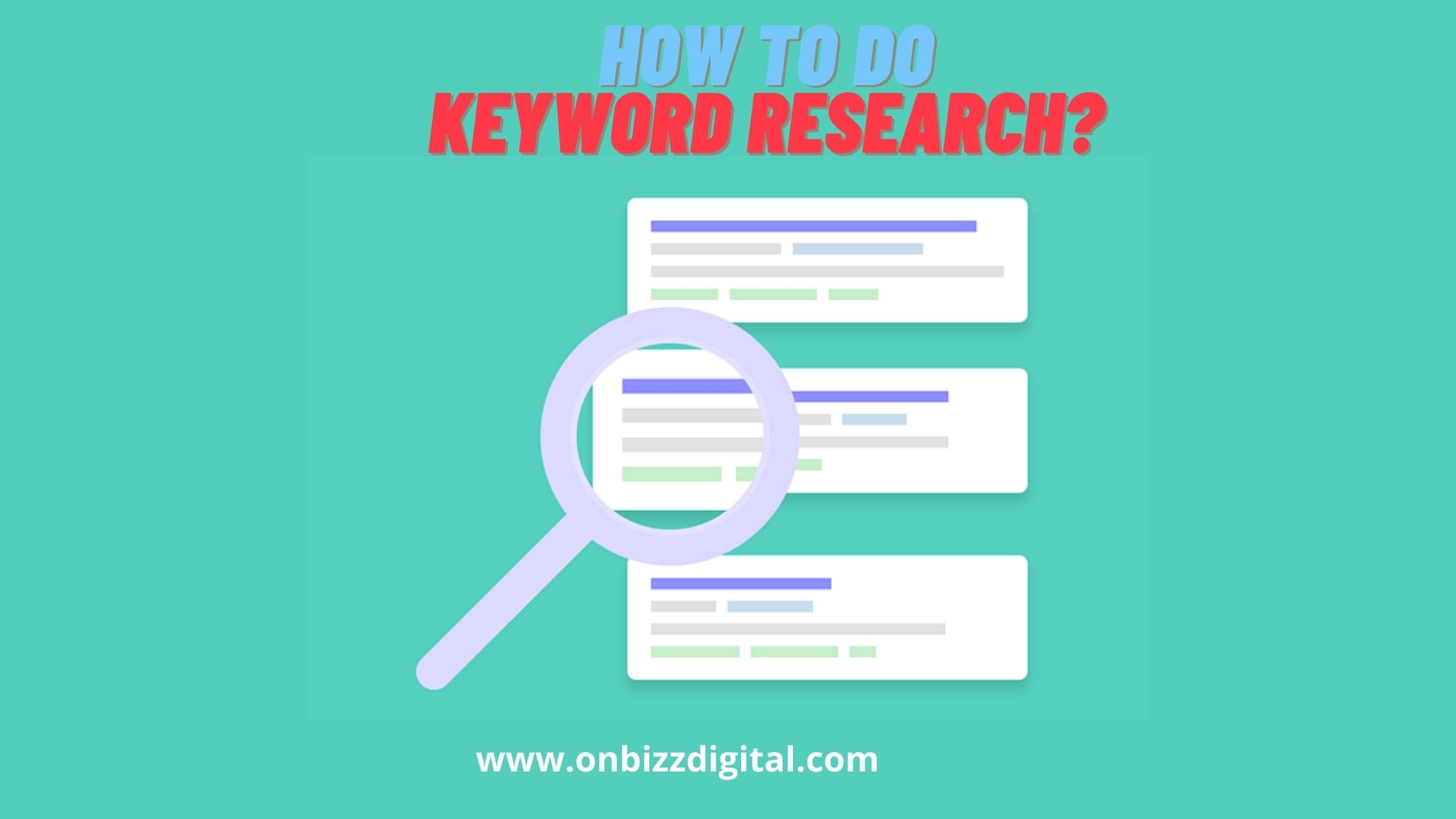 The Ultimate Guide of Keyword Research for SEO| Step by Step Keyword Research Process