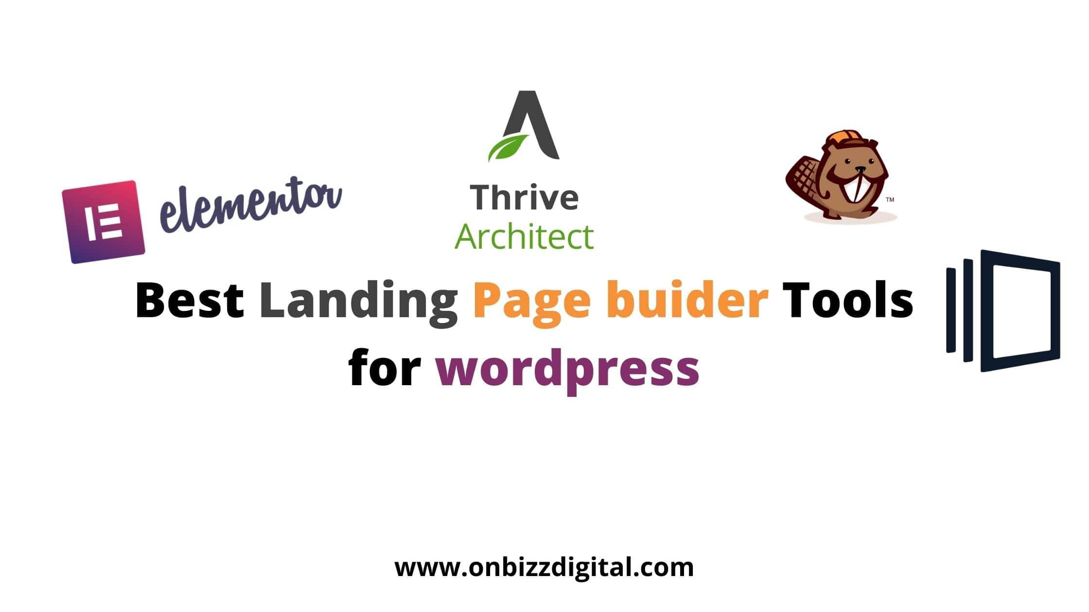 best landing page builder tools for wordpress