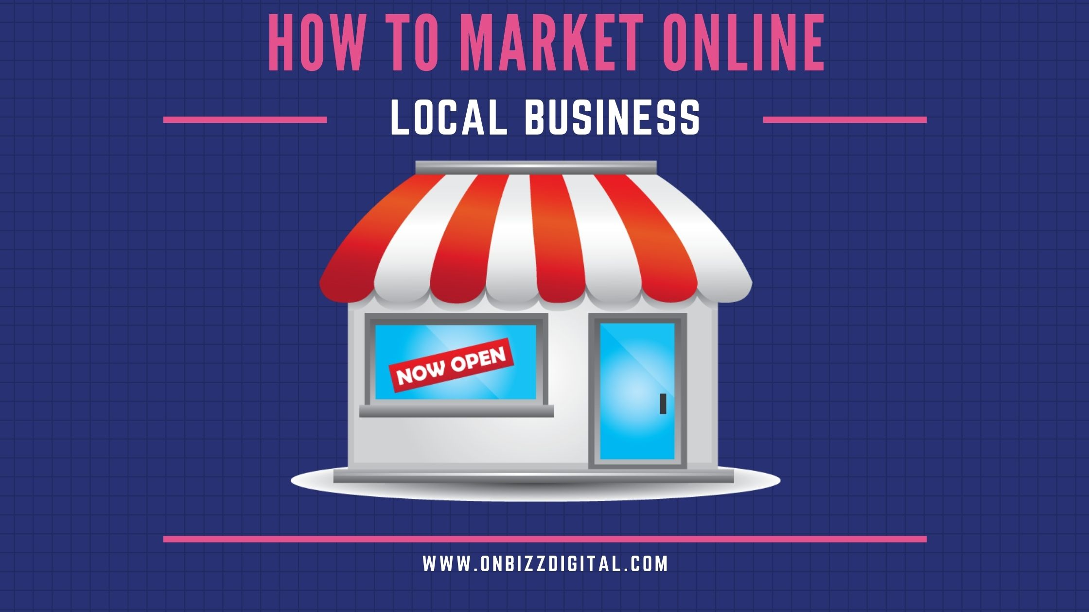 Market local business online